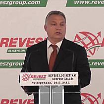 Révész-Nyírlog Kft. új logisztikai központjának avatója III. - szon.hu