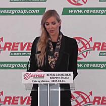 Révész-Nyírlog Kft. új logisztikai központjának avatója - szon.hu