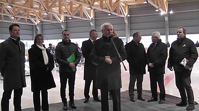 Jégcsarnok avató Nyíregyházán - szon.hu
