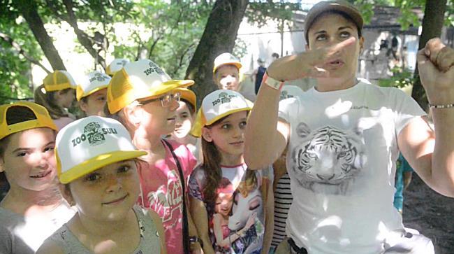 Zoosuli - Nyolcszáz gyereket táboroztattak - szon.hu
